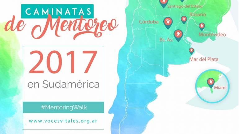 Caminata de Mentoreo 2017 de VOCES VITALES.