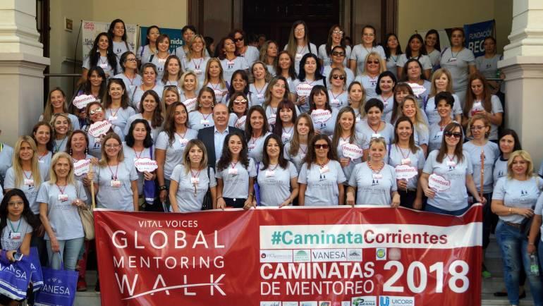Se realizó en Corrientes la 2ª Caminata Mentoreo VOCES Vitales Argentina 2018