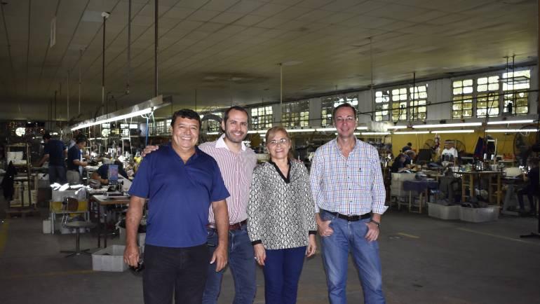 Visita de UICORR a la Cooperativa UTRASA de San Luis del Palmar, Corrientes