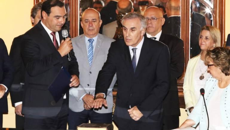 Juró el nuevo ministro de Producción, Ing. Claudio Anselmo