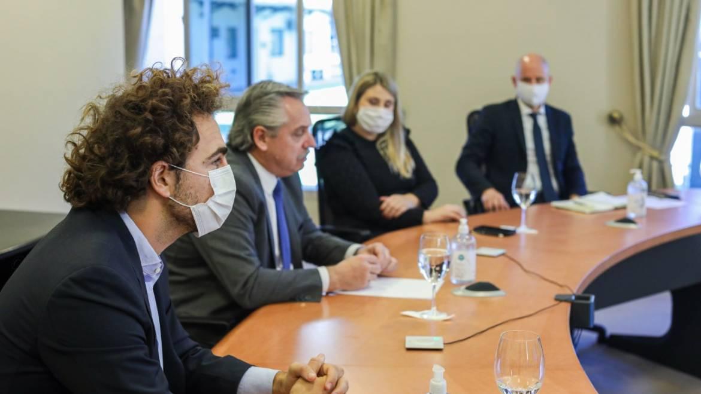 Representates de UICORR participaron de una videoconferencia junto al Presidente de la Nación, Alberto Fernández
