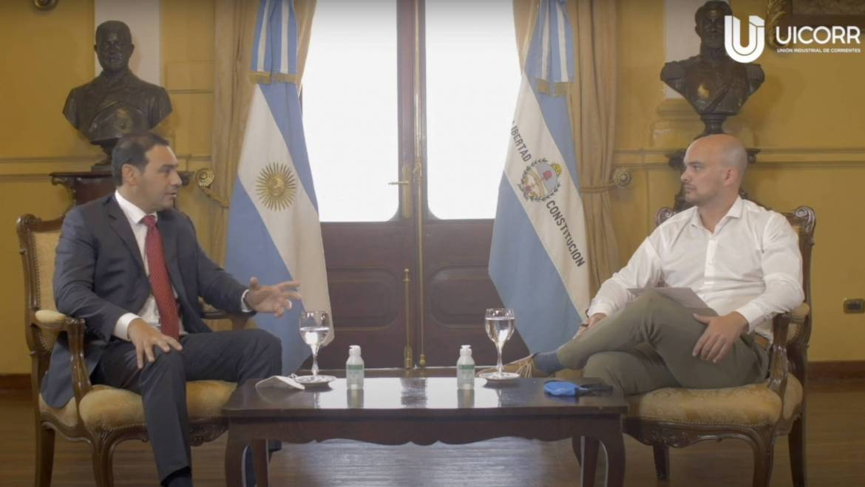 Entrevista al gobernador Gustavo Valdés #ProduciendoArgentina