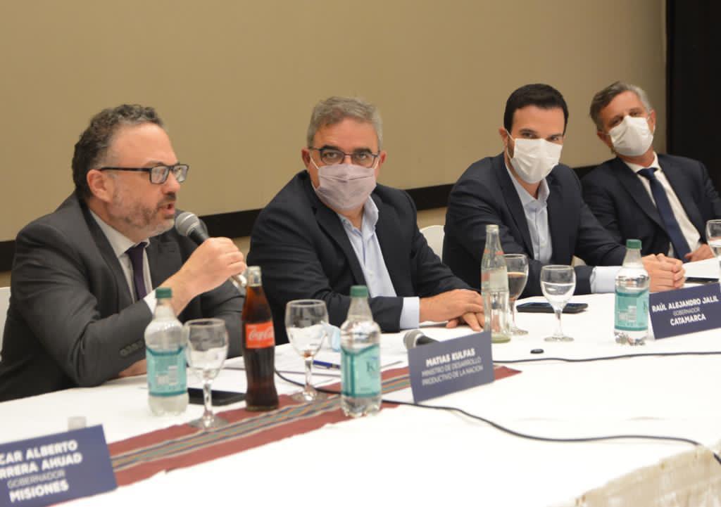 UniNOA se reunió con el Ministro Kulfas y los Gobernadores de Catamarca y Misiones