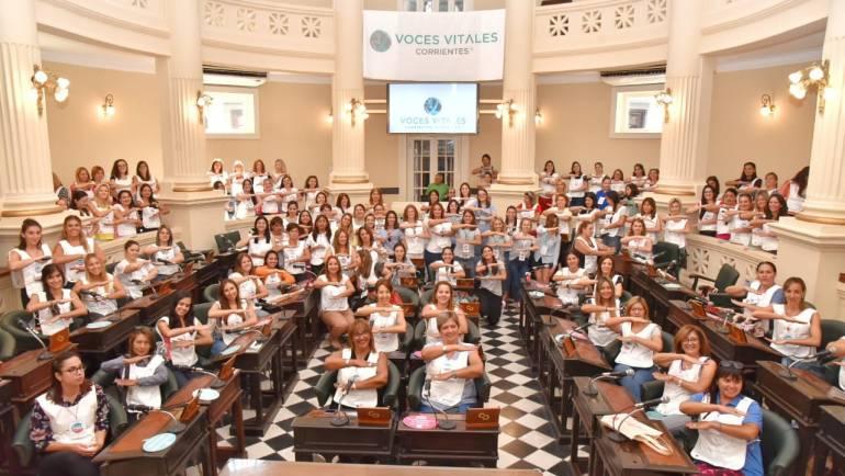 Se realizó la IV Edición de Caminata Voces Vitales